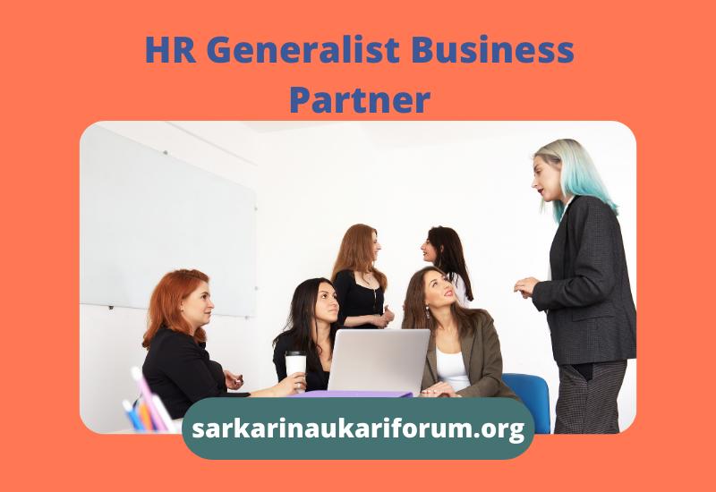 HR Generalist Business Partner